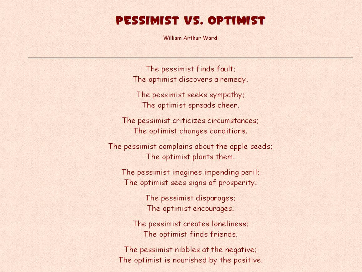 Pessimist quote #6