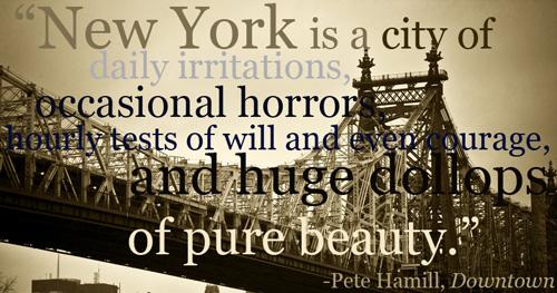 Pete Hamill's quote