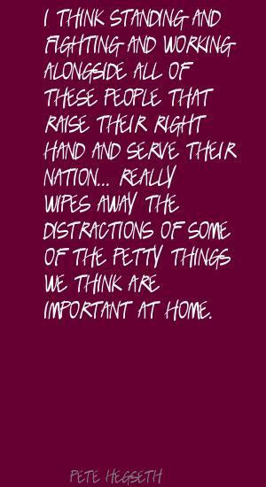 Pete Hegseth's quote #4