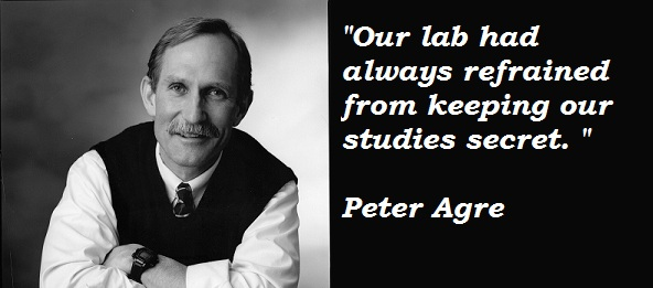 Peter Agre's quote #5