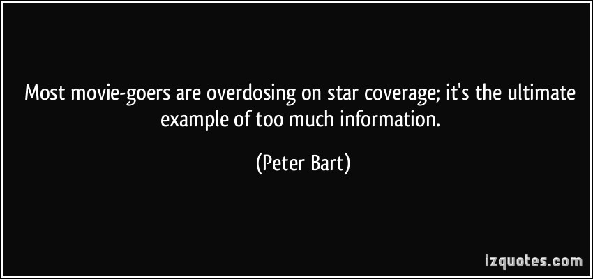 Peter Bart's quote #1