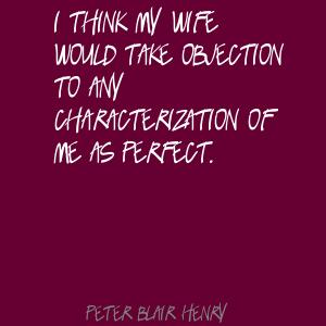 Peter Blair Henry's quote #8