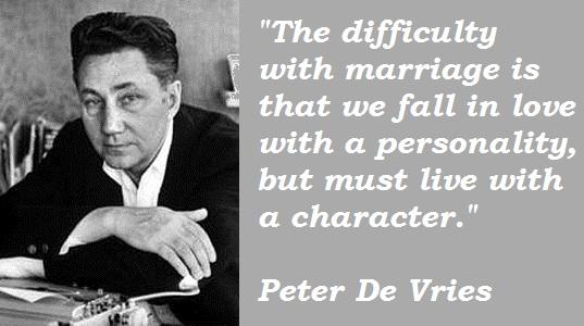 Peter De Vries's quote #2