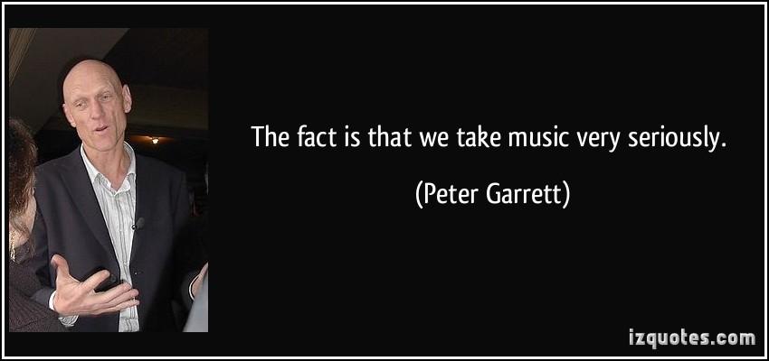 Peter Garrett's quote #7