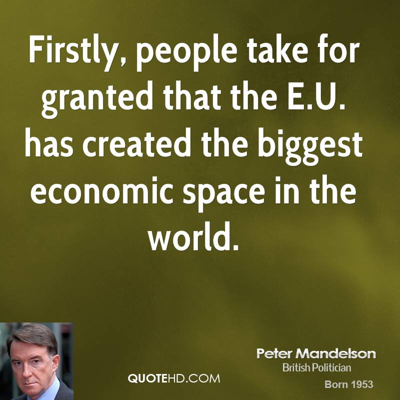 Peter Mandelson's quote #7