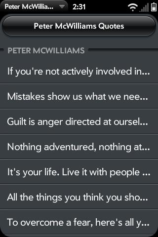 Peter McWilliams's quote #1