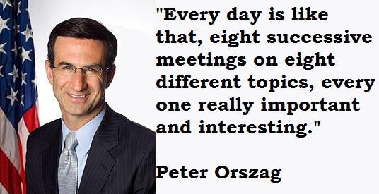 Peter Orszag's quote #1