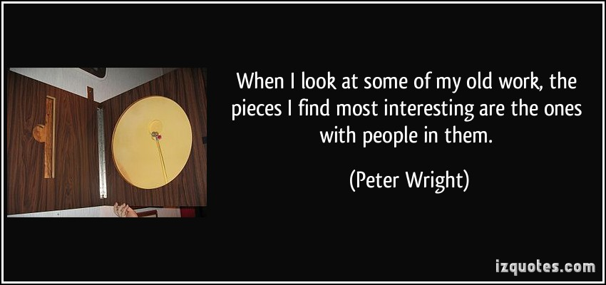 Peter Wright's quote