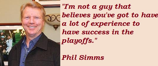 Phil Simms's quote #2