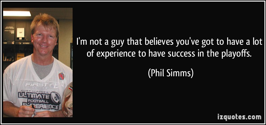 Phil Simms's quote #3