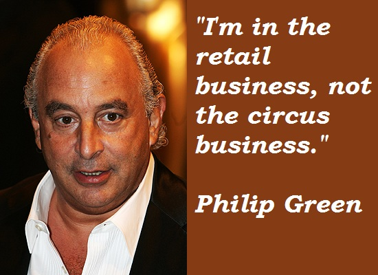 Philip Green's quote #3