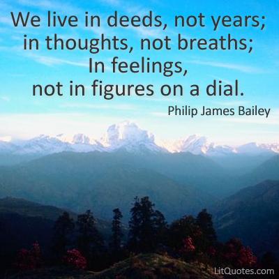 Philip James Bailey's quote #2