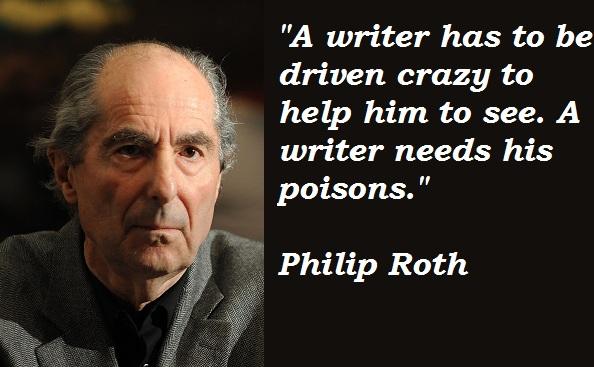 Philip Roth's quote #1