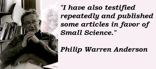 Philip Warren Anderson's quote #5