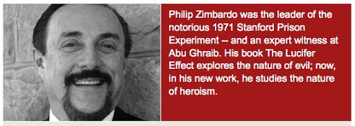 zimbardos prison experiment This post corresponds to readings in my online textbookon two classic social psychology studies: stanley milgram's obedience to authority studies and phillip.