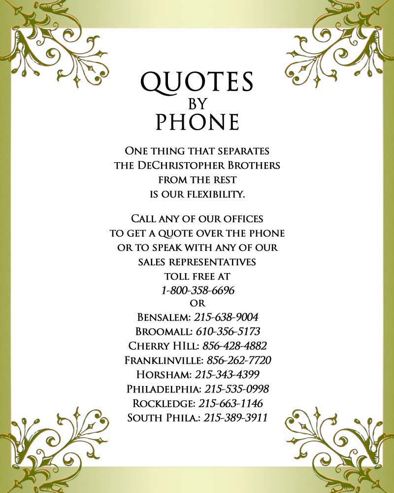 Phone quote #7