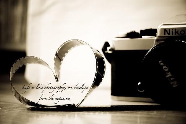 Photographic quote