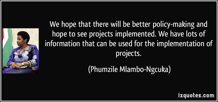 Phumzile Mlambo-Ngcuka's quote #2