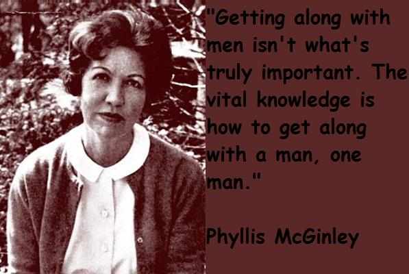 Phyllis McGinley's quote #5