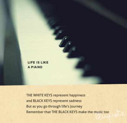 Piano quote #2