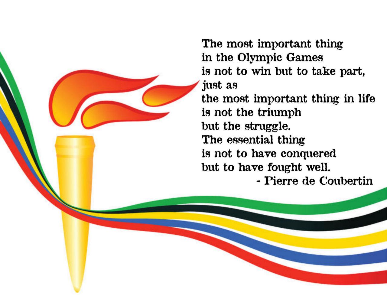 Pierre de Coubertin's quote #4