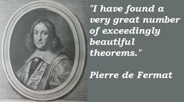 Pierre de Fermat's quote #2