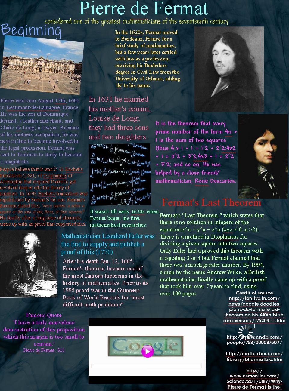 Pierre de Fermat's quote #1