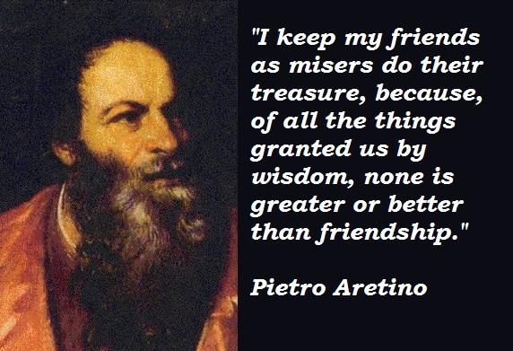 Pietro Aretino's quote #4