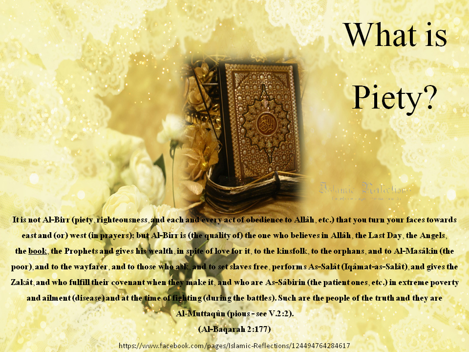 Pious quote #3