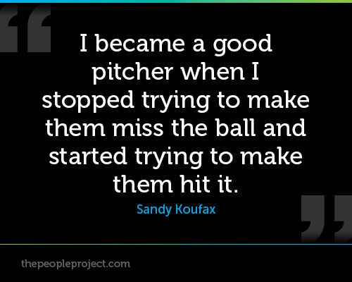 Pitcher quote #2