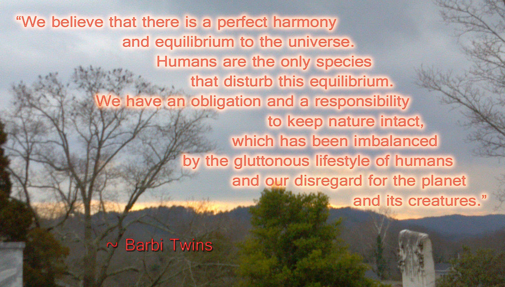 Planet Earth quote #1