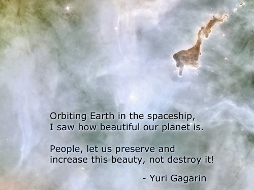 Planet Earth quote #2