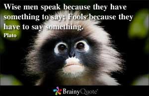 Platonic quote #1