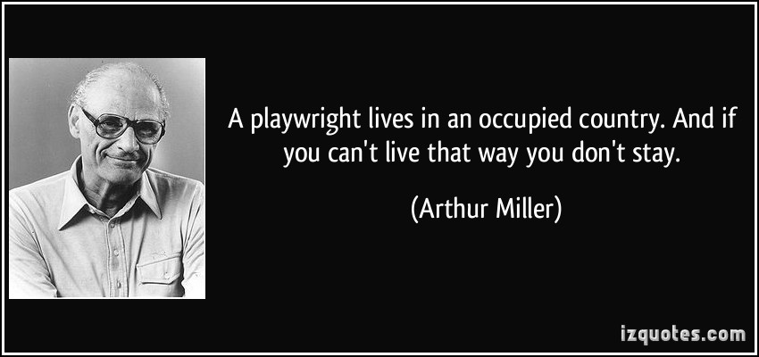 Playwrights quote #1