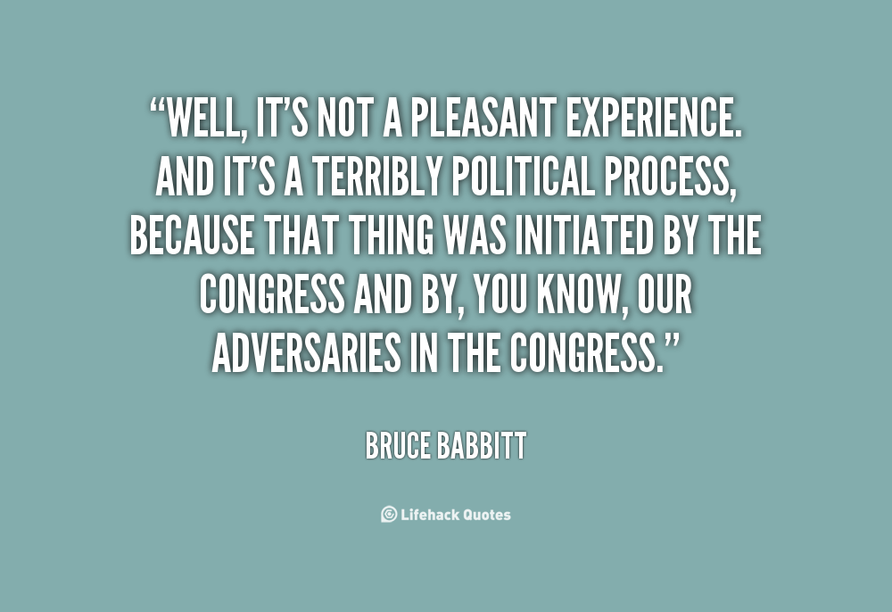 Pleasant Experience quote #2