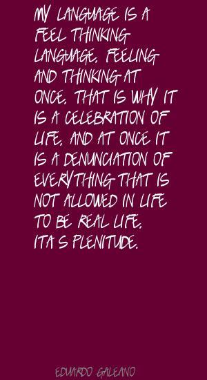 Plenitude quote #1