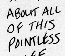Pointless quote #2