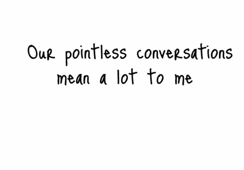 Pointless quote