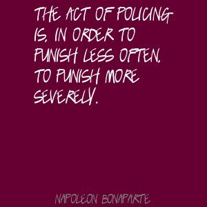 Policing quote #2