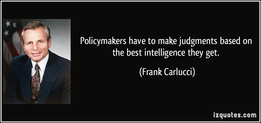 Policy Makers quote #1