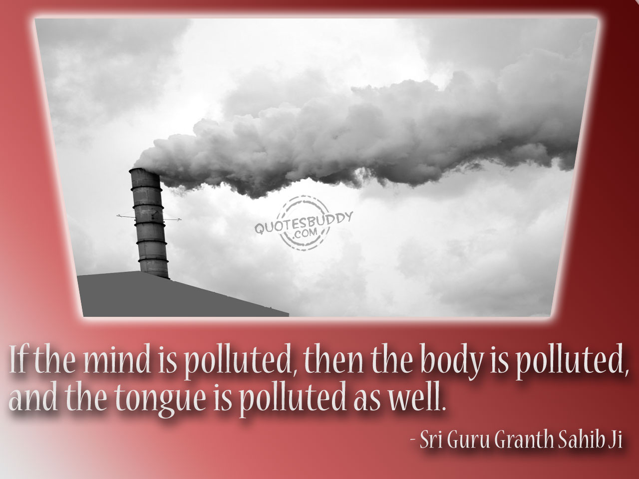 Polluted quote #1
