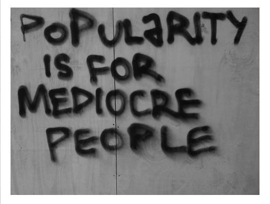 Popularity quote #1