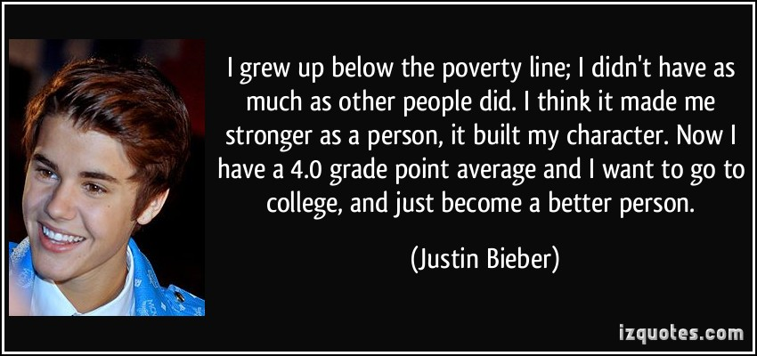 Famous Quotes About Poverty Line Sualci Quotes
