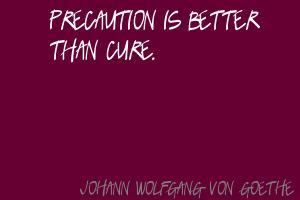 Precaution quote #1
