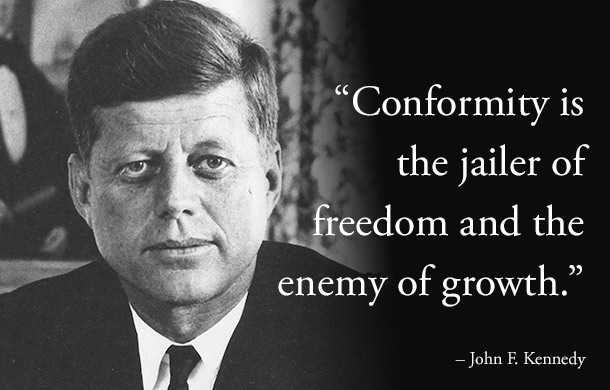 President Kennedy quote