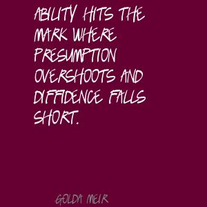 Presumption quote #2