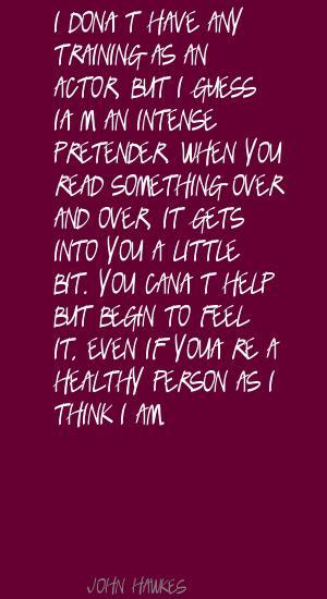 Pretender quote #1