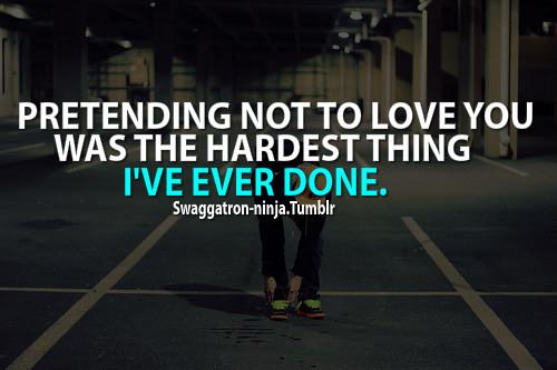 Pretending quote #5