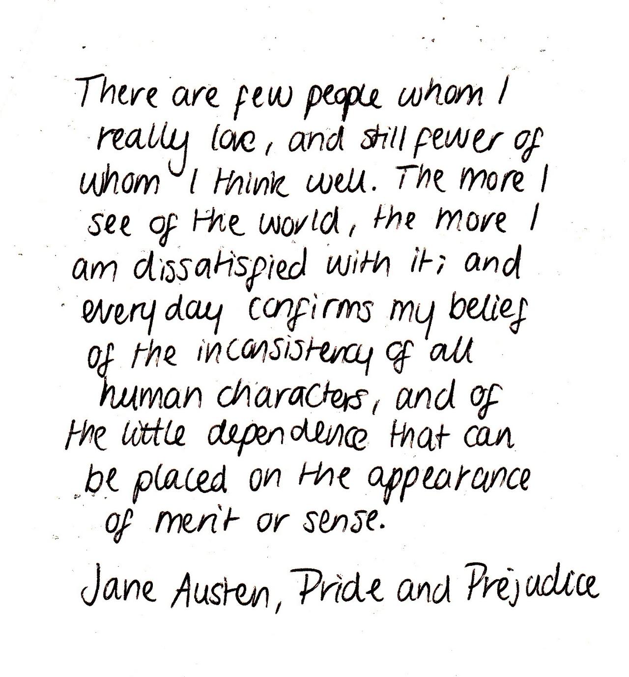 Pride And Pre Ce Quote