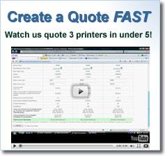 Printers quote #1
